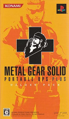 Image 1 for Metal Gear Solid Portable Ops + [Deluxe Pack]