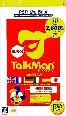 Image 1 for Talkman Euro (PSP the Best)