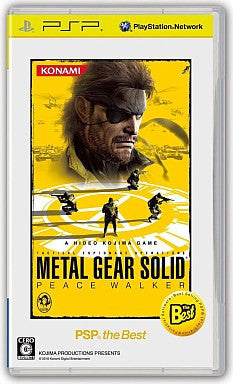 Image 1 for Metal Gear Solid Peace Walker (PSP the Best)