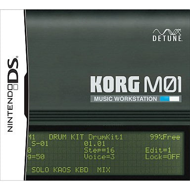 Image 1 for KORG M01 Music Workstation [Amazon.co.jp Limited Edition]