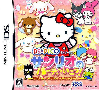 Image 1 for DS Pico Series: Sanrio no Party e Ikou! Oryouri - Oshare - Okaimono