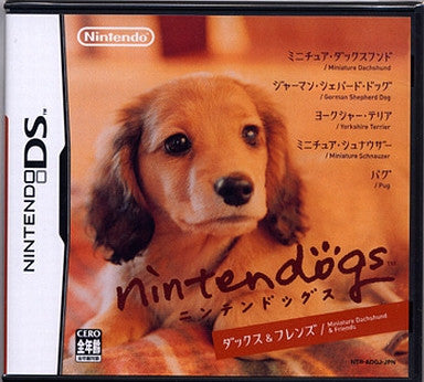 Image 1 for Nintendogs - Dachs & Friends