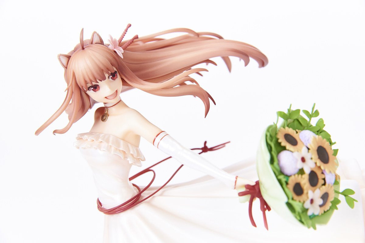 Image 2 for Ookami to Koushinryou - Holo - 1/8 - Wedding Dress ver.