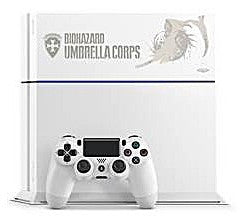 Image for Playstation 4 Biohazard Special Pack 500 GB Model (Glacier White)