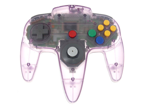 Image for Nintendo 64 Controller Bros - Clear Purple Controller (no box/manual)