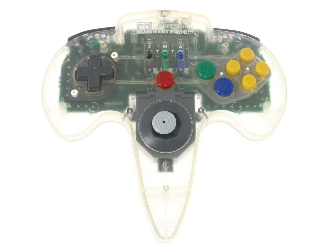 Image 1 for HORI Commander Clear N64 (no box/manual)