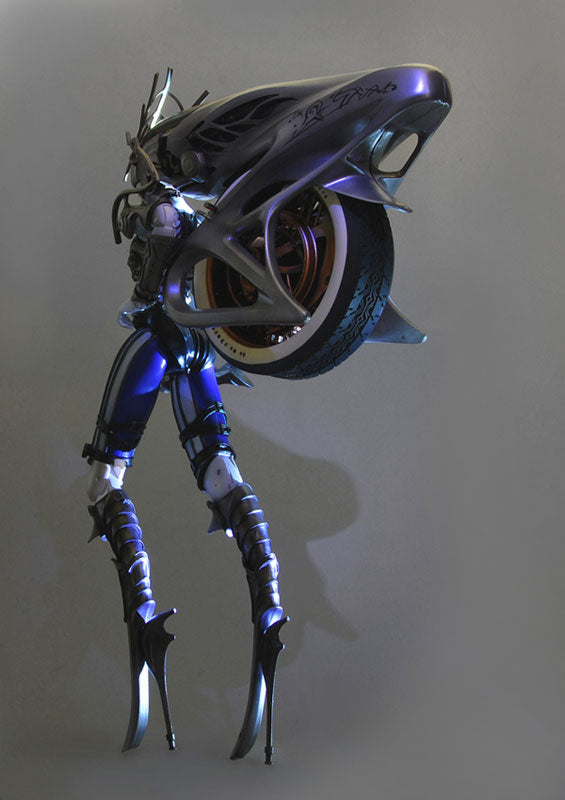 Final Fantasy XIII - Play Arts Kai: Shiva Posable Figure