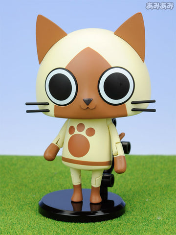 "Game Characters Collection ""Monster Hunter Portable 3rd"" Airou Leila Cat Series"