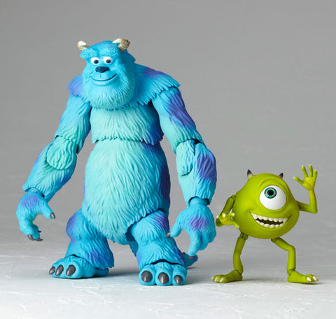 "SCI-FI Revoltech Series No.028 ""Monsters Inc."" Sulley & Mike"