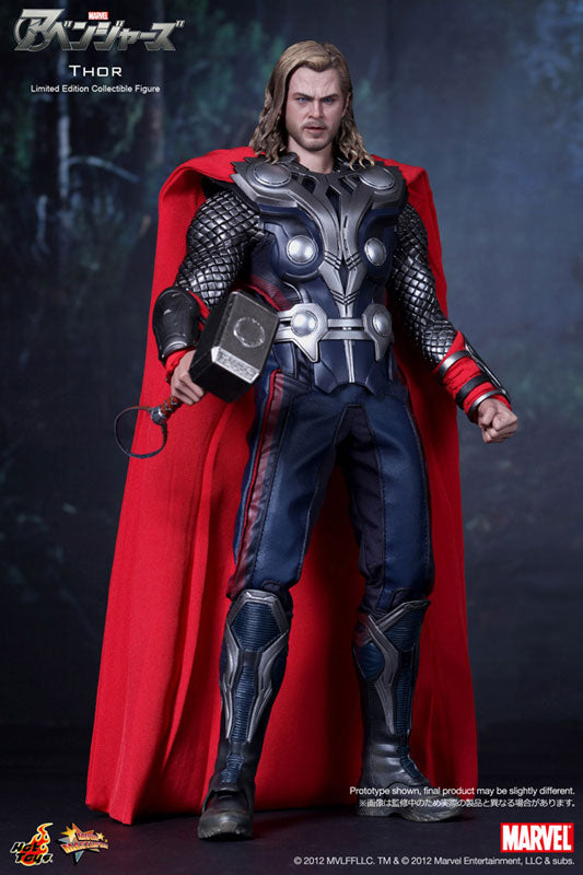 Movie Masterpiece The Avengers 1 6 Scale Figure Thor