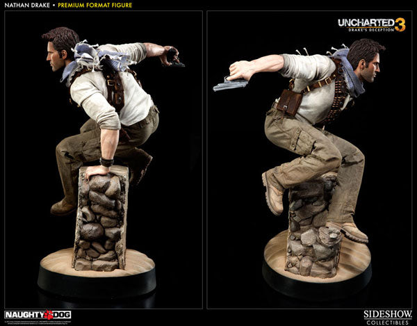 Uncharted 3 Drake S Deception 1 4 Scale Premium Figure Nathan Drake