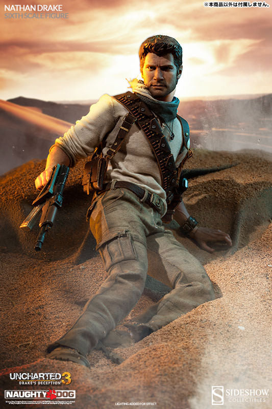 Uncharted 3 Drake S Deception 12 Inch Action Figure Nathan Drake