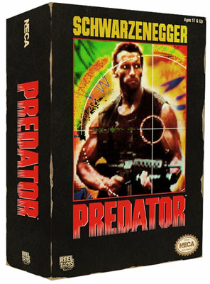 Predator - 7 Inch Action Figure Jungle Hunter Predator Classic 1989 Video Game Appearance
