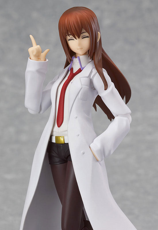 Steins;Gate - Makise Kurisu - Figma #195 - White Coat ver. (Max Factory)