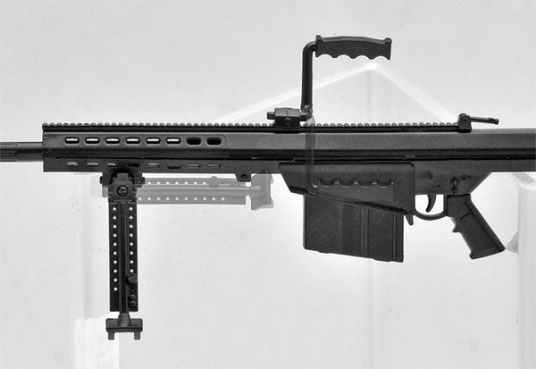 LittleArmory LA011 1/12 M82A1 Type Plastic Model