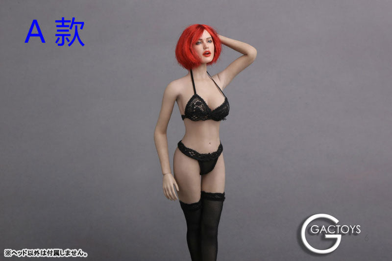 1/6 Western Beautiful Female Head 017 Sexy Face A
