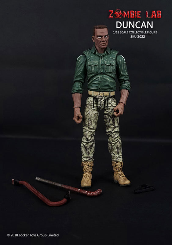 "Z022 Duncan / ""Zombie Lab"" (4 Inch Figure)(Provisional Pre-order)"