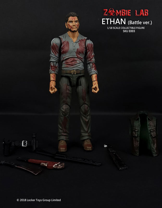 "E003 Ethan After Battle Ver. / ""Zombie Lab"" (4 Inch Figure)"