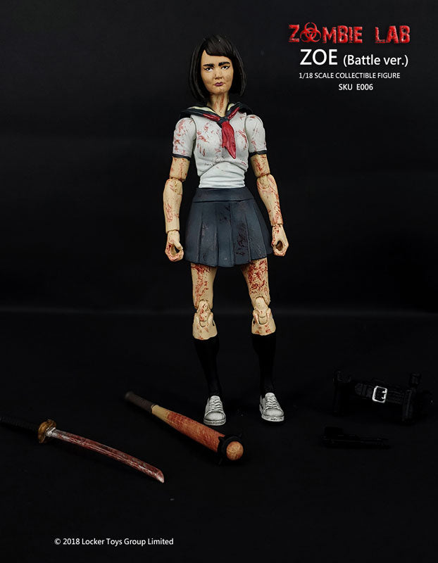 "E006 Zoe After Battle Ver. / ""Zombie Lab"" (4 Inch Figure)(Provisional Pre-order)"