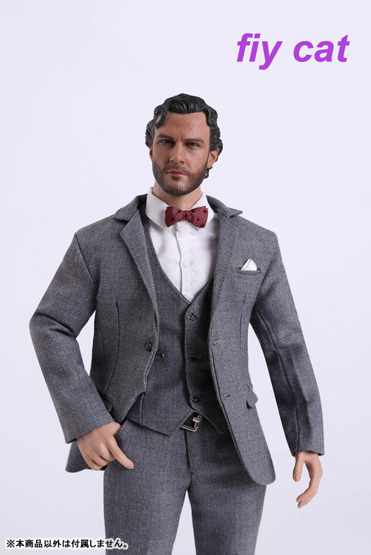 1/6 Male Gray Slim Suit (DOLL ACCESSORY)(Provisional Pre-order)
