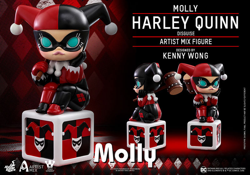 "Artist MIX ""DC Comics"" Molly (Harley Quinn Cosplay Version) By Kenny Wong"