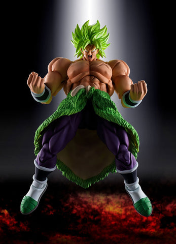 Dragon Ball Super Broly - Broly SSJ - S H Figuarts - Full Power (Bandai)