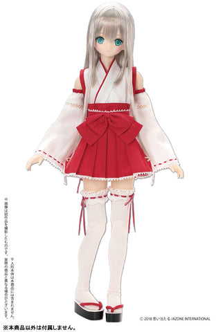 50cm Collection - Doll Clothes - AZO2 Sexy Miko Set - 1/3 (Azone)