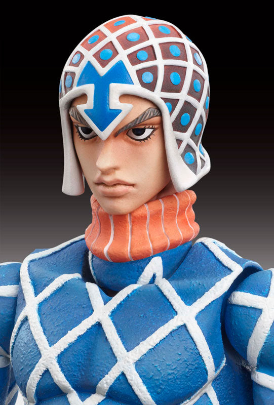 Jojo no Kimyou na Bouken - Ougon no Kaze - Guido Mista - Sex Pistols - Super Action Statue #34 (Medicos Entertainment)