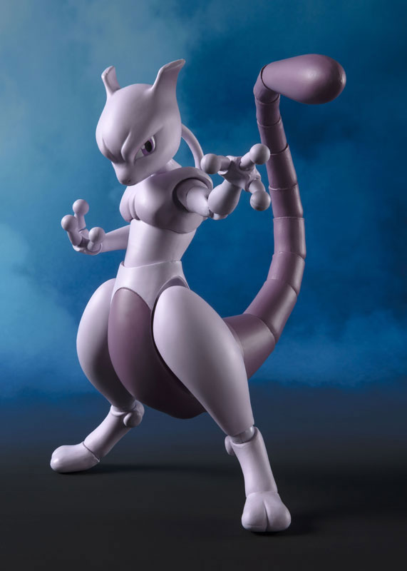 Pocket Monsters - Mewtwo - S.H.Figuarts - Arts Remix (Bandai Spirits)