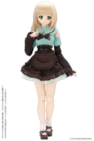 50cm Collection - Doll Clothes - AZO2 Chocolate Maid Set - Mint Chocolate (Azone)