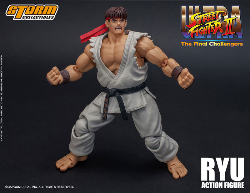 Ultra Street Fighter Ii The Final Challengers Ryu 1 12