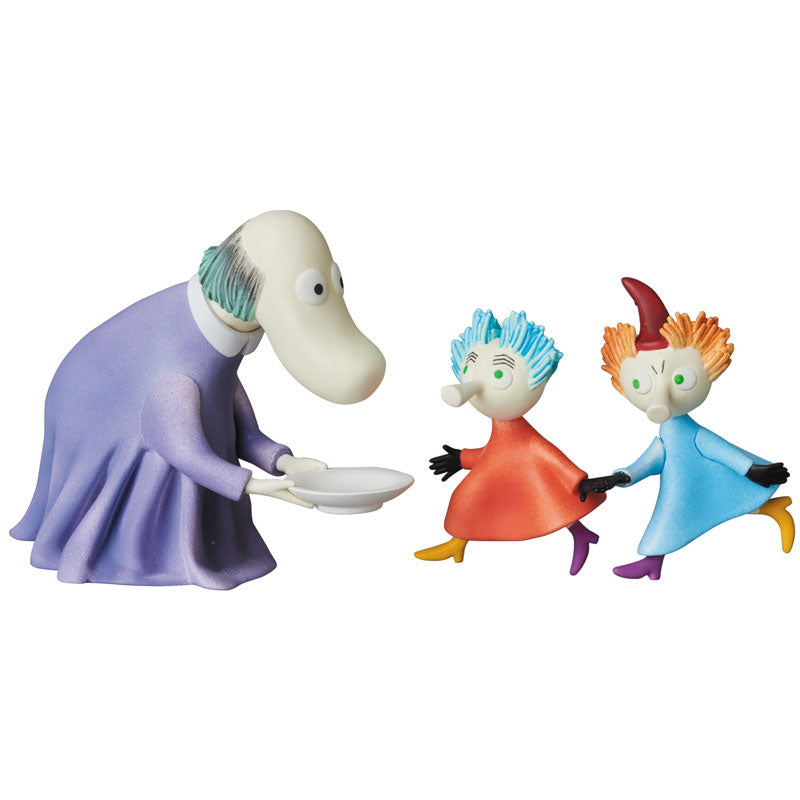 Ultra Detail Figure UDF MOOMIN Series 6 Hemulen and Thingumy and Bob