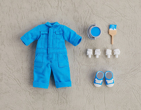 Nendoroid Doll: Outfit Set - Colorful Coveralls - Blue (Good Smile Company)