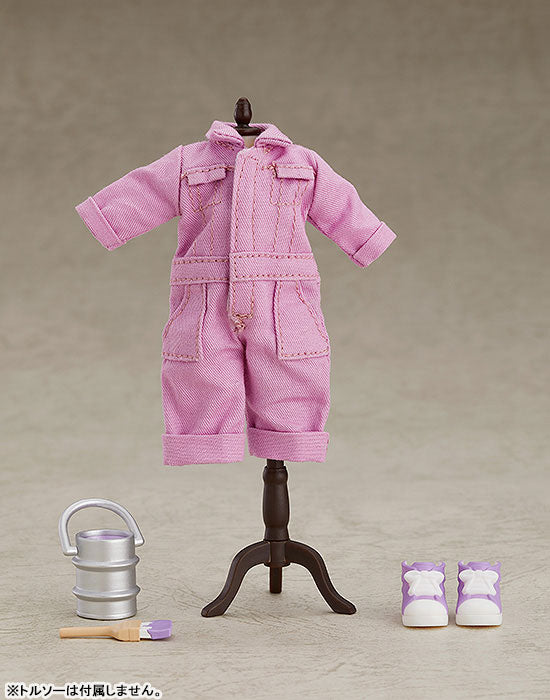 Nendoroid Doll: Outfit Set - Colorful Coveralls - Purple (Good Smile Company)