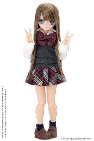 Picco Neemo Wear 1/12 After School Set Gray x Red (DOLL ACCESSORY)