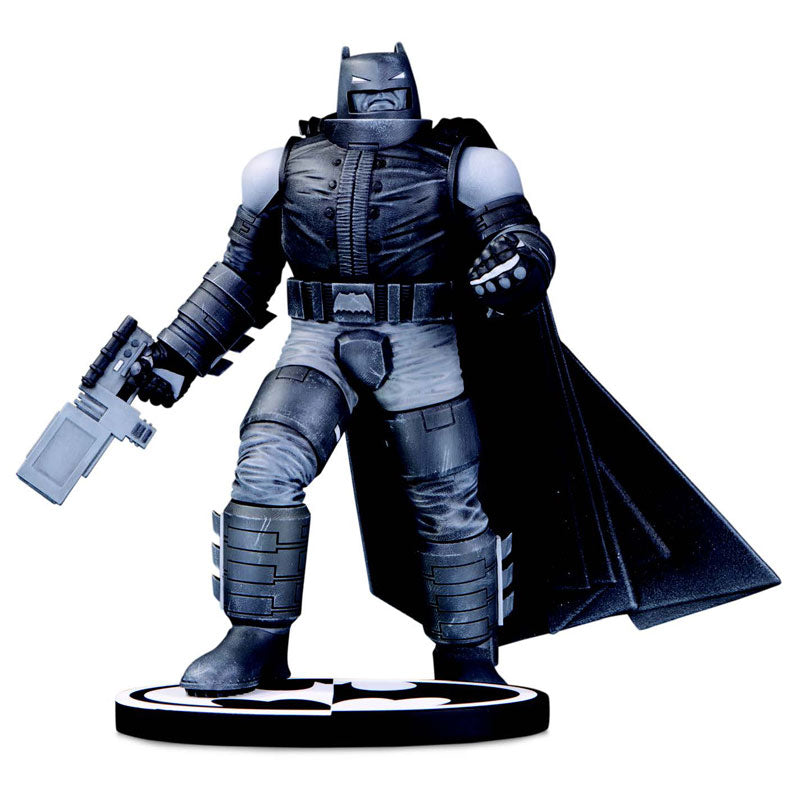 """DC Comics"" Black & White Armored Batman By Frank Miller"