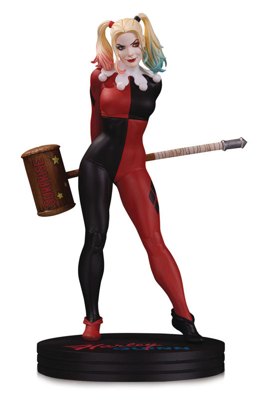 """DC Comics"" Statue Cover Girls Harley Quinn By Frank Cho"