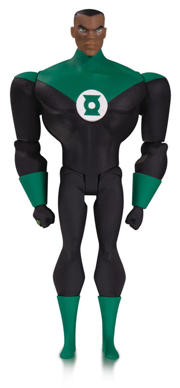 """Justice League Animated"" 6 Inch DC Action Figure Green Lantern (Justice League Version)"