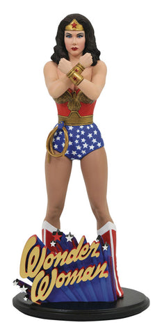 """Wonder Woman 1976 TV Series"" PVC Statue DC Gallery Wonder Woman (Lynda Carter)"