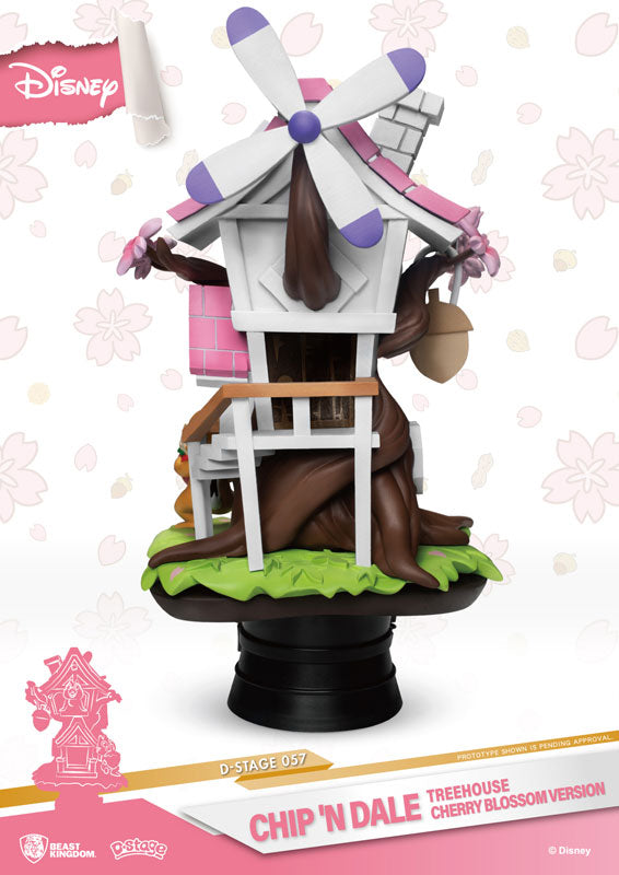 "D Stage #057 ""Disney"" Chip & Dale Tree House (Cherry Blossom Edition)"