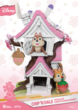 "D Stage #057 ""Disney"" Chip & Dale Tree House (Cherry Blossom Edition) - 5"