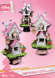 "D Stage #057 ""Disney"" Chip & Dale Tree House (Cherry Blossom Edition) - 8"