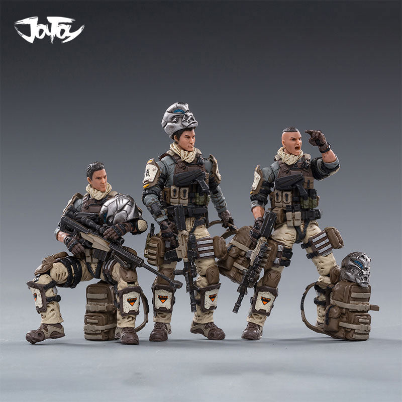 1/18 Hardcore Cold Play Desert Scull Field Squad
