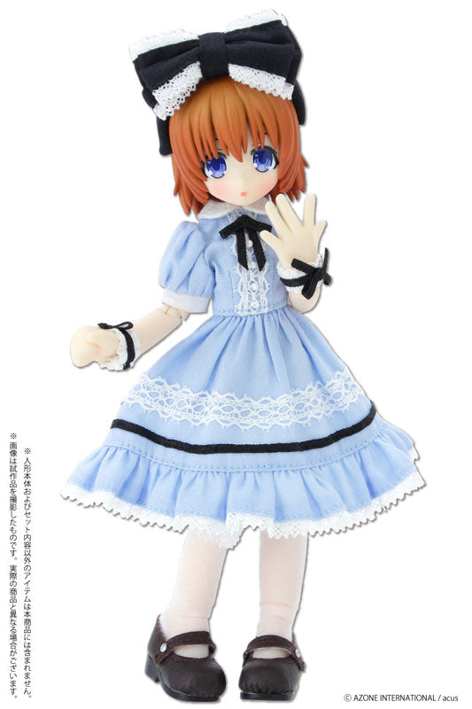 Picco Neemo Wear 1/12 Dreaming Girl Alice Dress Set Alice Blue (DOLL ACCESSORY)