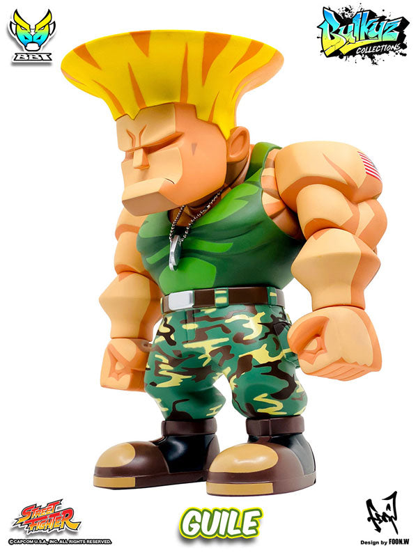 Street Fighter Bulkyz Collections Guile