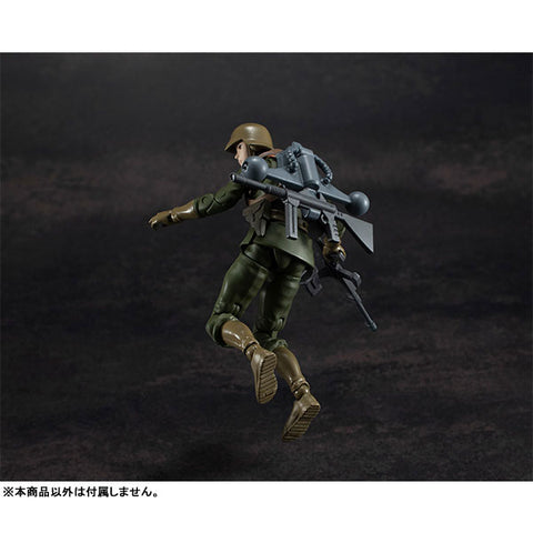 Mobile Suit Gundam Zeon Army Normal Soldier 03 1//18 Posable Figure G.M.G