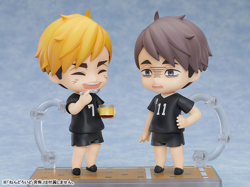 Haikyuu!! To The Top - Miya Osamu - Nendoroid #1443 (Orange Rouge)