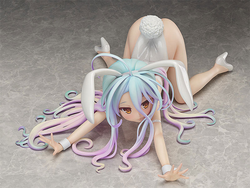 B-STYLE No Game No Life Shiro Bare Leg Bunny Ver. 1/4