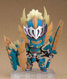 Monster Hunter World - Hunter - Nendoroid #1421 - Male Zinogre Alpha Armor Ver. (Good Smile Company) - 3