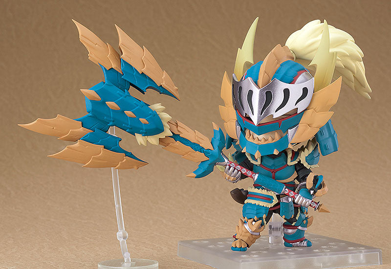 Monster Hunter World - Hunter - Nendoroid #1421 - Male Zinogre Alpha Armor Ver. (Good Smile Company)